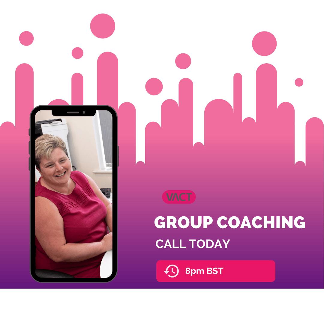 Weekly Group Coaching Call for VA Membership