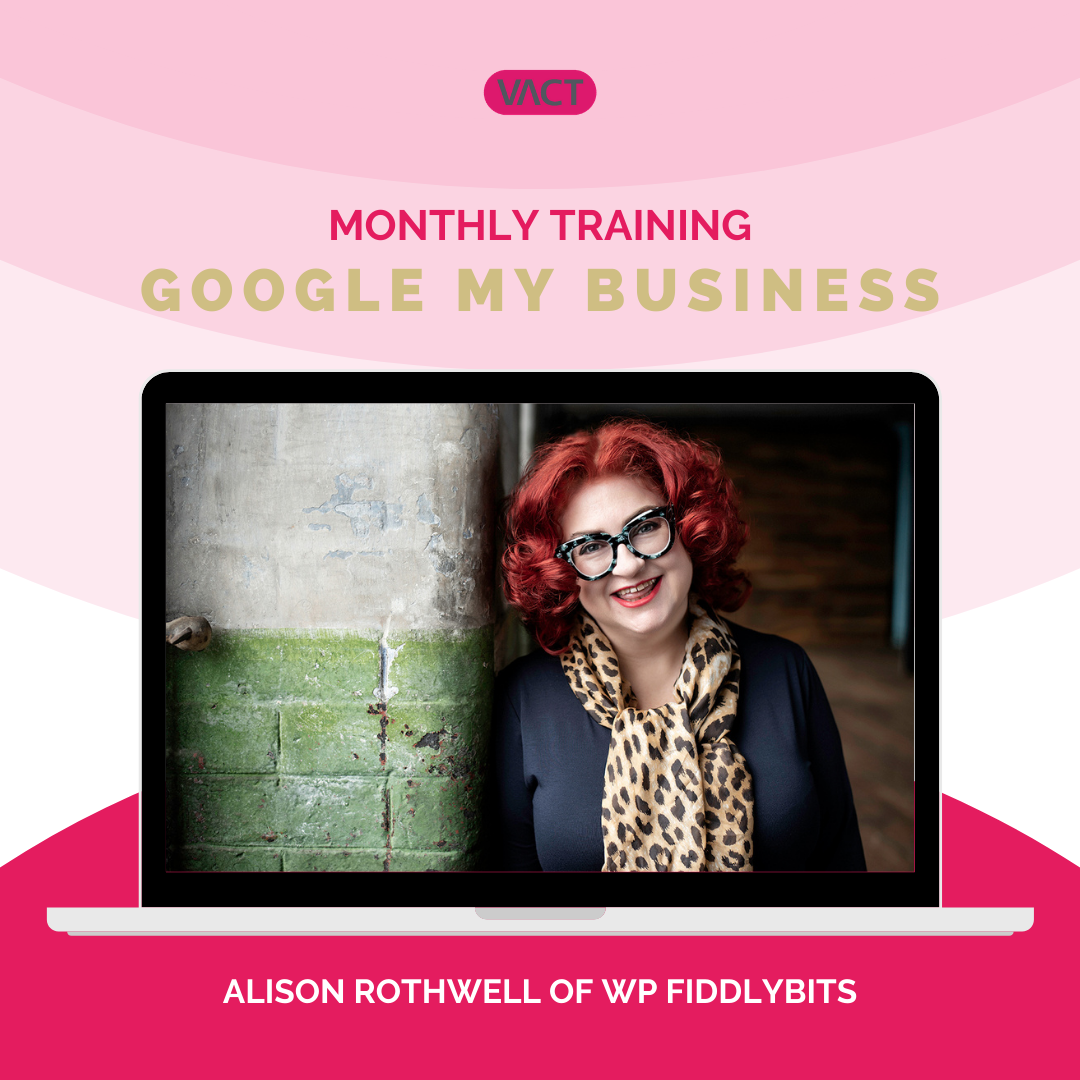 Google my business with Alison Rothwell